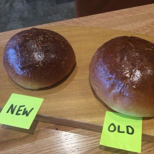 Thanks to customer feedback we've adjusted the size of our buns!