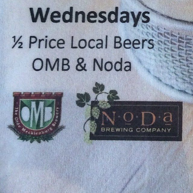 OMG !  R U Serious?  1/2 Price Local Beers every Wednesday at Bang Bang Burgers...