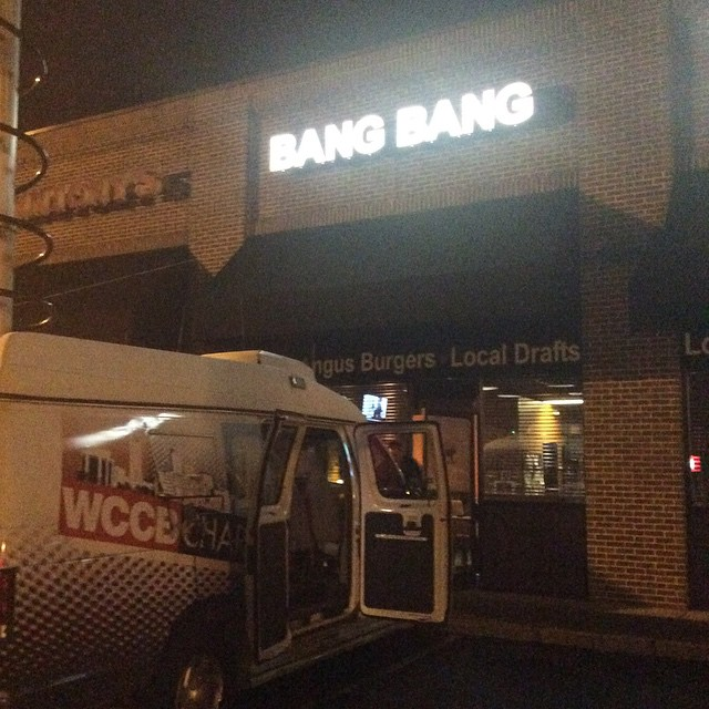 Bang Bang Burgers is gonna be on TV!!! WCCB...