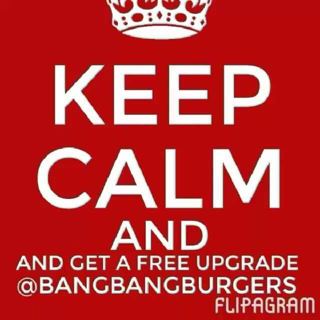Free Upgrade Monday at BangBangBurger...Get a free upgraded side to one of our 12 bangbangburgers...Try something new Today...you'll like it I promise. #bangnation #bangbangburgers #freeupgrademonday #sweetpotatoefries #arugalasalad #onionrings #angusbeef #lafreidabeef #artisanbread #craftbeer #awardwinning #clt #charlotteresturant #mooandbrew