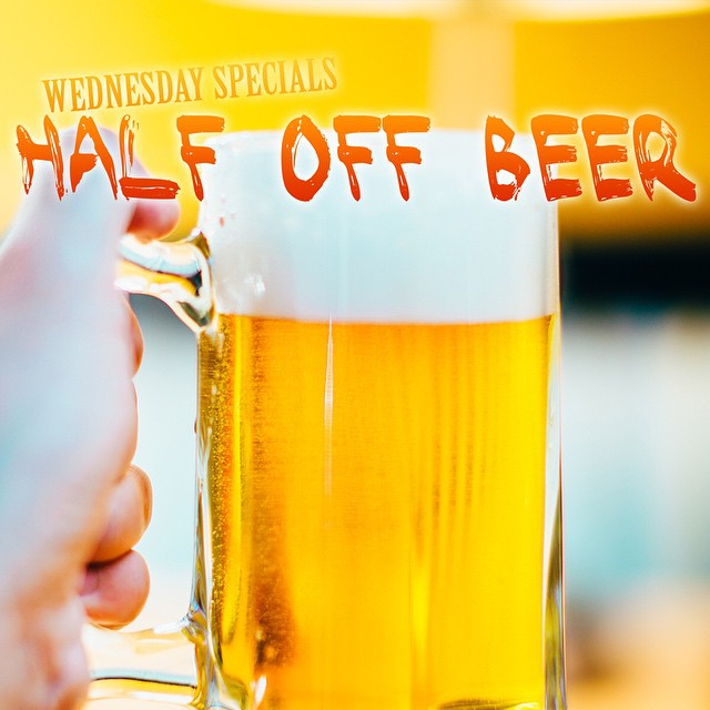 HALF OFF ICE COLD CRAFT BEER AT BANG BANG BURGERS TODAY! COME ON DOWN WITH YOUR FRIENDS TO YOUR FAVORITE BURGER SPOT AND ENJOY HALF OFF OF ALL BEERS!!! #Charlotte #Best #Burger #Restaurant #Friends #Family #Fun #Joy #Love #Local #HalfOff #Beer #Unwind #Relax #Energy