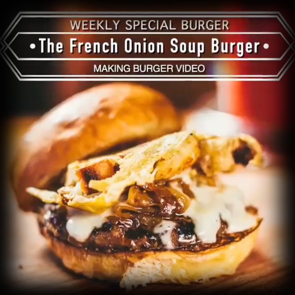 Burger Recipe: The French Onion Soup Burger