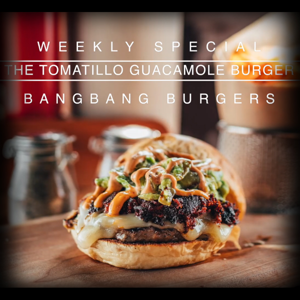 Burger Recipe: The Tomatillo Guacamole Burger