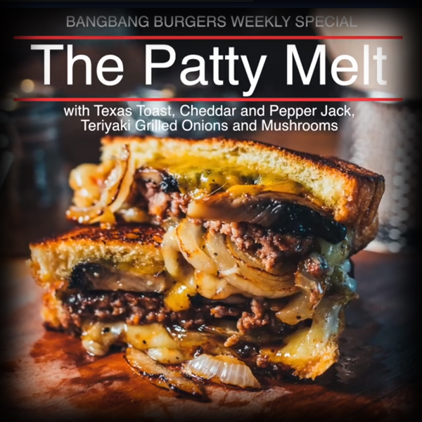 Burger Recipe: The Patty Melt