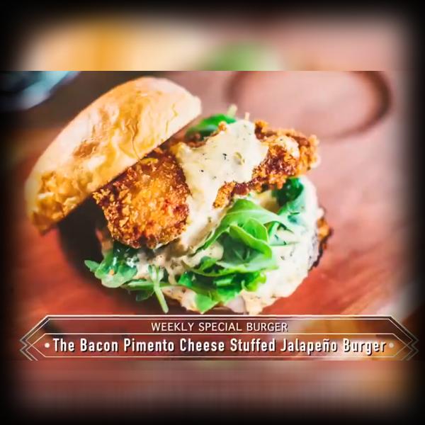 Burger Recipe: Bacon Pimento Cheese Stuffed Jalapeño Burger