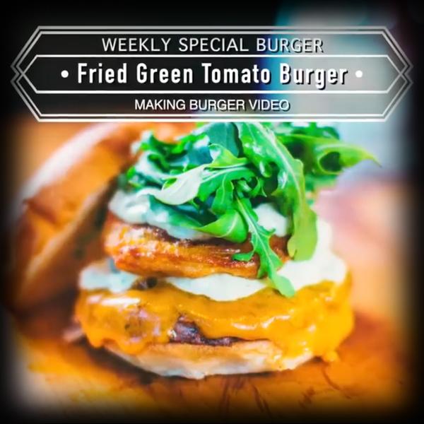 Burger Recipe: Fried Green Tomato Burger