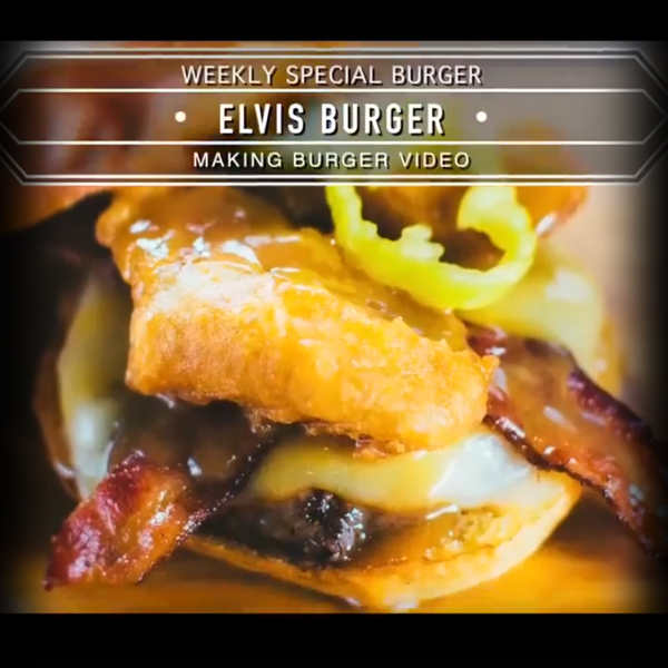 Burger Recipe: The Elvis Burger